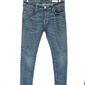 All Saints Cigarrete Skinny Jeans Men's 34